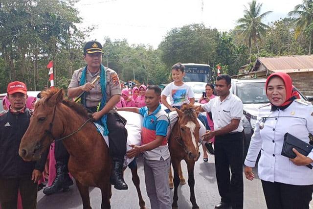 Jalin Silaturahmi Kamtibmas, Polres Muna Adakan Pengobatan Gratis