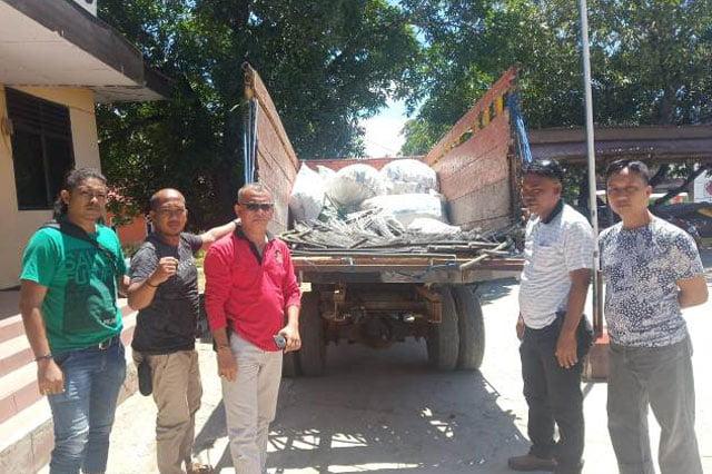 Kapolsek Katobu Ungkap Kasus Pencurian Kabel di Raha