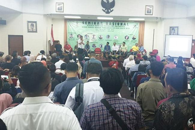Seminar Nasional, Benahi BUMDes Menjadi Perusahaan Big Data Centre Desa