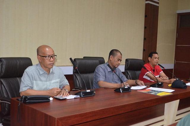 Rapat Tanggap Bencana Terkait Kebakaran Pasar Tempe Kabupaten Wajo
