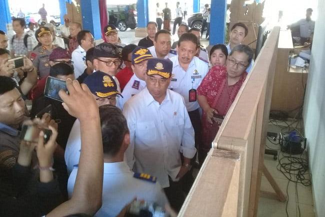 Menteri Perhubungan Puji Prasarana Terminal Mengwi Badung