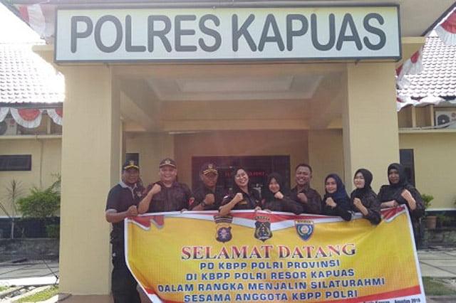 KBPP Polri Kalteng Bertandang ke Resort Kapuas