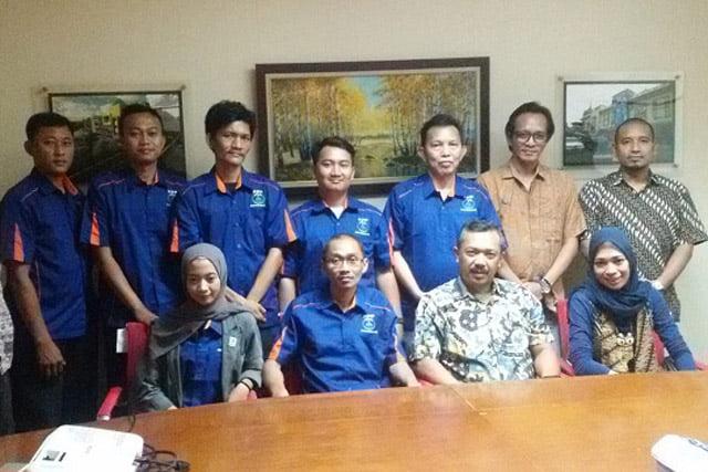 Komite Pedagang Pasar Kunjungi Ketua Umum Asparindo