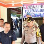 Anggota Polres Muaraenim Bekuk Bandar Narkoba Asal PALI