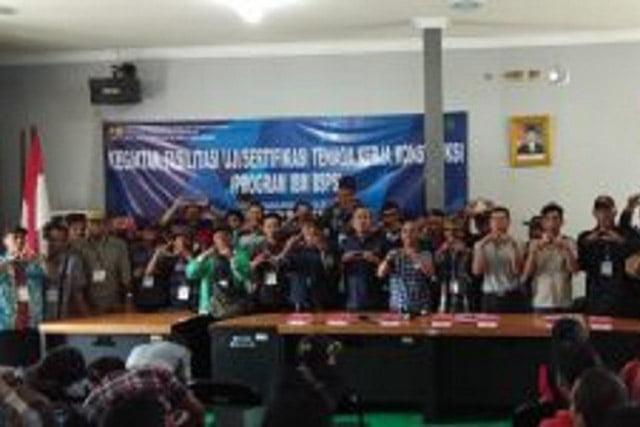 Balai Wilayah V Banjarmasin Gelar Uji Tenaga Kerja Konstruksi