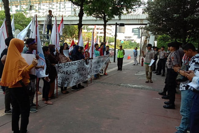 Brigade GPI: Aksi Jilid V Ini Adalah Jawaban Dari Tantangan PT Toba Bara