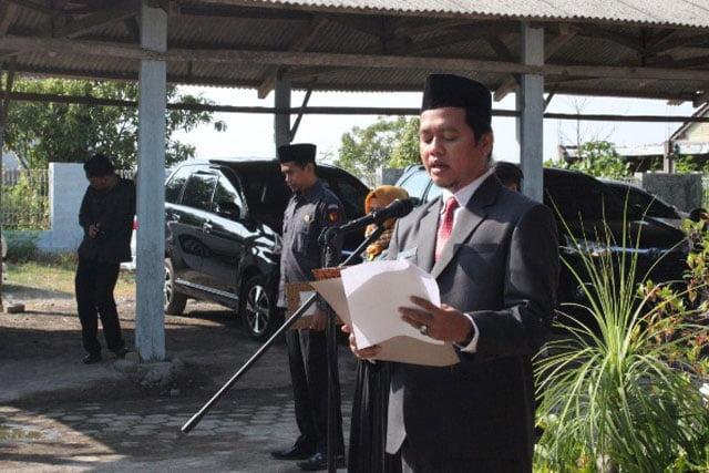 Tiga Bawaslu Kabupaten Gelar Upacara Bersama Peringati HUT ke-74 RI
