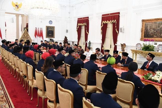 Presiden Jokowi Support Delegasi Indonesia di Kompetisi WorldSkills 2019