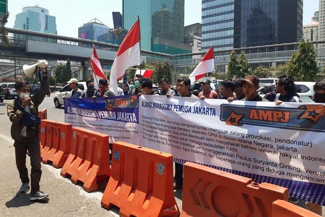 AMPJ Dukung Polda Metro Jaya Usut Pengibaran Bintang Kejora di Depan Istana