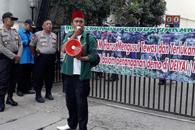 Gerakan Pemuda Jakarta Minta Komnas HAM Ungkap Gugurnya TNI-Polri di Papua