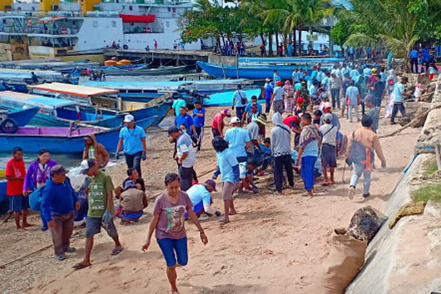 KSOP Sorong Gelar Bersih Laut dan Pantai