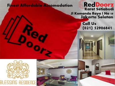 400 x 350 Red Doorz Karet Setiabudi