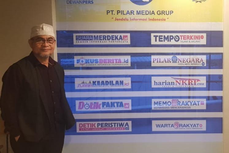 Calon Walikota Ternate Kunjungi Kantor Pilar Media Grup