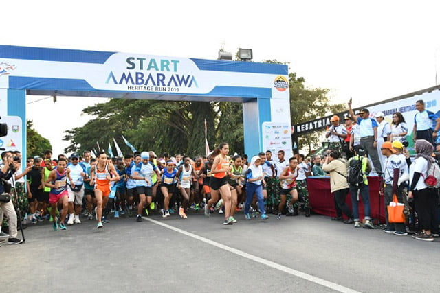 Pangdam IV Diponegoro Lepas Peserta Ambarawa Heritage Run 2019
