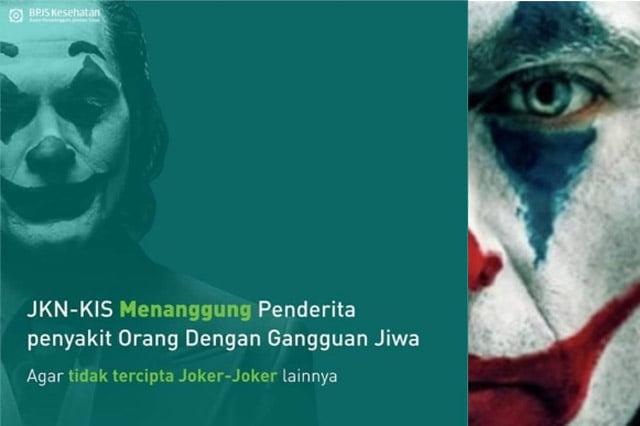 BPJS Kesehatan Disomasi Gegara Gambar Joker