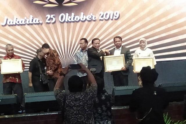KPAI Dapat Penghargaan Bawaslu Award Tahun 2019