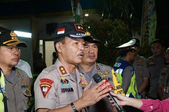 Komjen Idham Azis Diajukan Jokowi ke DPR Sebagai Calon Kapolri