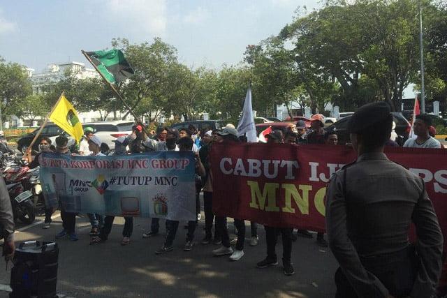 MPR-PI Tuding Konglomerat Media Monopoli Televisi di Indonesia