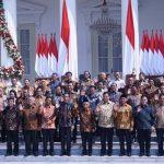 Jokowi Umumkan Daftar Menteri Kabinet Indonesia Maju