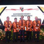 Jokowi Curhat ke Kader Pemuda Pancasila Sulitnya Membentuk Kabinet