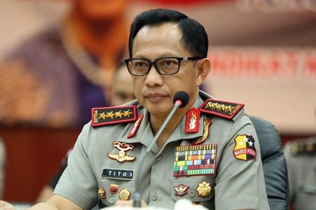 DPR Setuju Jokowi Berhentikan Tito Karnavian Dari Jabatan Kapolri