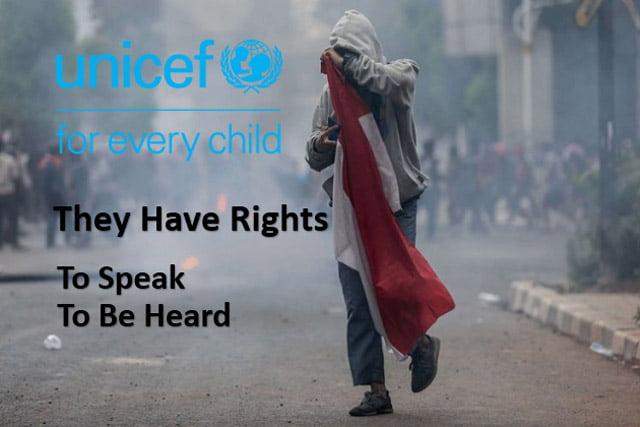 UNICEF Tegaskan Pemerintah Harus Ijinkan AnakSTM Ikut Demo