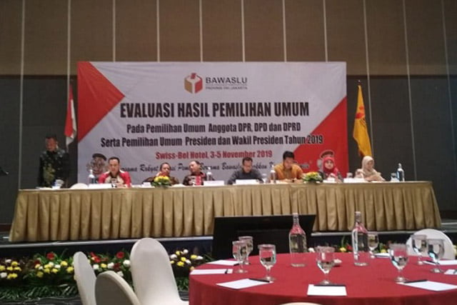 Bawaslu DKI Jakarta Gelar Evaluasi Pemilu 2019