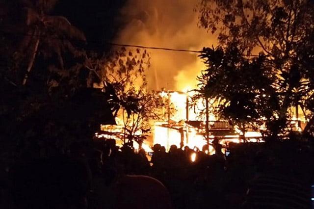 Kebakaran di Atapange Sulawesi Selatan, 1 Orang Hangus Terbakar