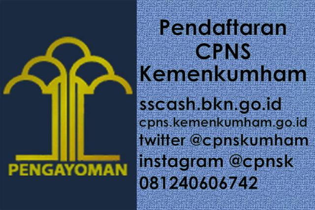 Pendaftaran CPNS Kemenkumham Melalui Link Ini