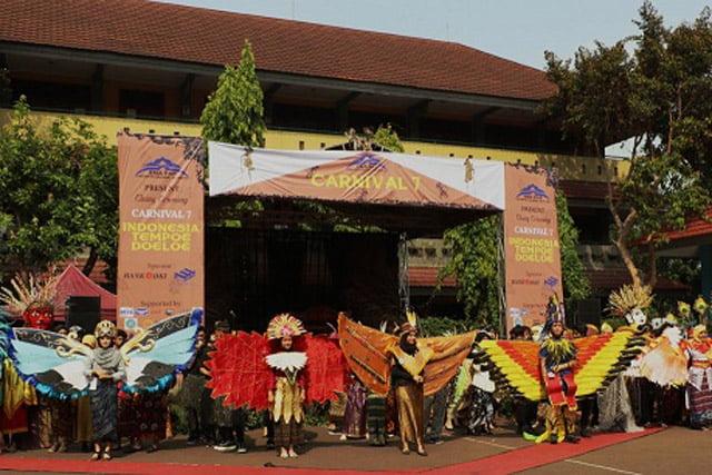 SMA PKP Menggelar Carnival Fashion Ke-7