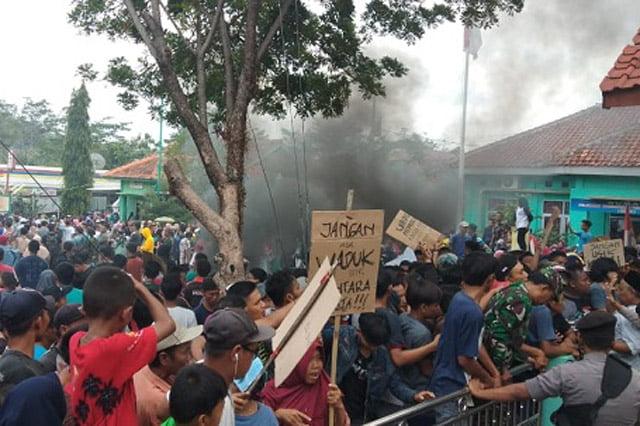 Warga Gelar Demo Jilid II Tolak Pembangunan Waduk Bantarkawung