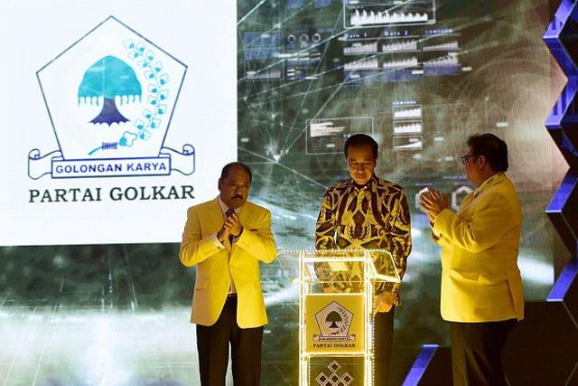 Buka Munas X Partai Golkar, Jokowi Tekankan Jaga Stabilitas Nasional