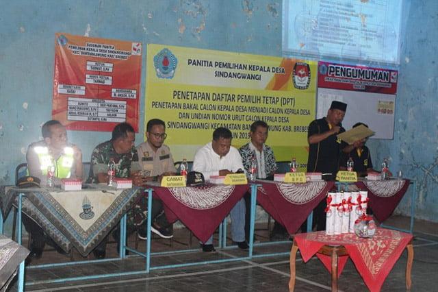 Forkompincam Bantarkawung Monitoring Tahapan Pilkades
