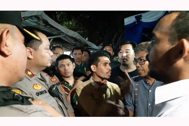 Buntut Ricuh GPI-GPII, Kepolisian Akan Kosongkan Gedung M Natsir