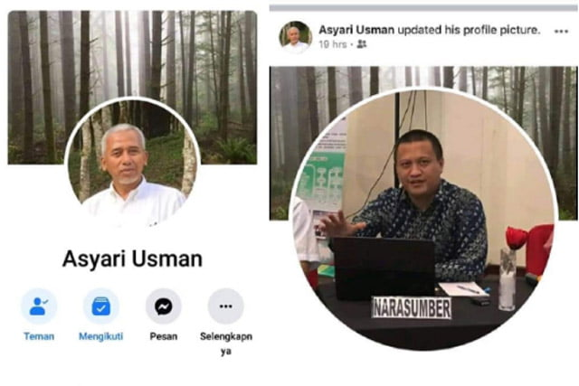 Usai Komentari WA Denny JA, Akun Facebook Asyari Usman Dikloning