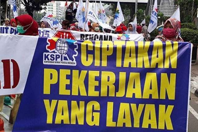 KSPI Ungkap Alasan Tolak Omnibus Law