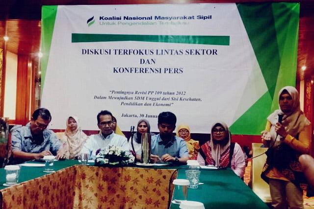 Koalisi Masyarakat Sipil Minta Pemerintah Revisi PP 109 Tahun 2012