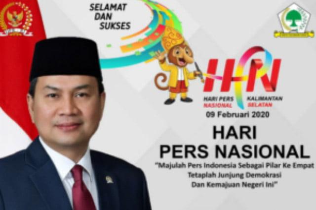 Azis Syamsuddin Minta Insan Pers Jadi Pelopor Kemajuan Bangsa