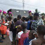 Yonmarhanlan XI Gelar Bakti Sosial ke Masyarakat Merauke