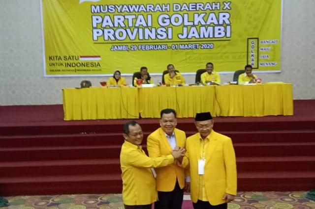 Cek Endra Terpilih Sebagai Ketua DPD I Partai Golkar Jambi