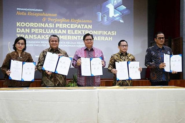 Pemerintah dan Bank Indonesia Tandatangani Nota Kesepahaman ETP