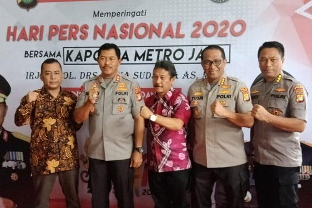 Polda Metro Jaya Gelar Syukuran Bersama Insan Pers