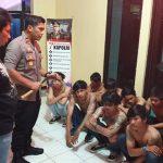 Operasi Cipta Kondisi Polsek Kembangan Amankan 12 Remaja