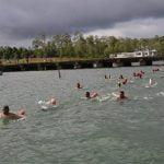 Tingkatkan Daya Tahan Fisik, Menbanpur 3 Mar Latihan Renang Laut