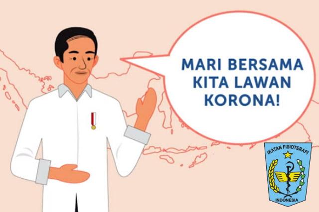 Ikatan Fisioterapi Indonesia Dukung Kebijakan Social Distancing