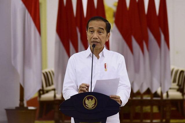 Jokowi Tegaskan Indonesia Belum Ada Opsi Kebijakan Lockdown
