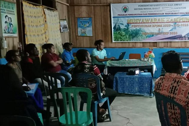 Rencana Kerja Pemerintah Kampung Kapatcol Tampung Aspirasi Warga