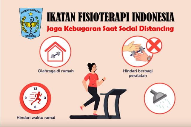 Tips Tetap Bugar Jalani Social Distancing Ala Ikatan Fisioterapi Indonesia