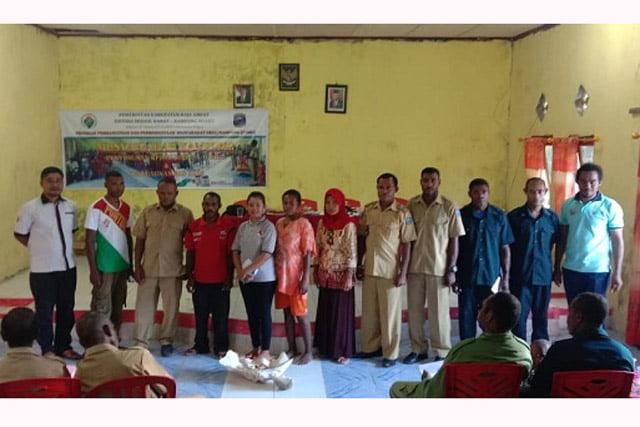 P3MD Raja Ampat Fasilitasi Musyawarah RKP Kampung Magey