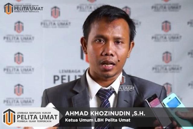 dukungan Kepada Rekan Sejawat, Advokat Munarman, S.H.